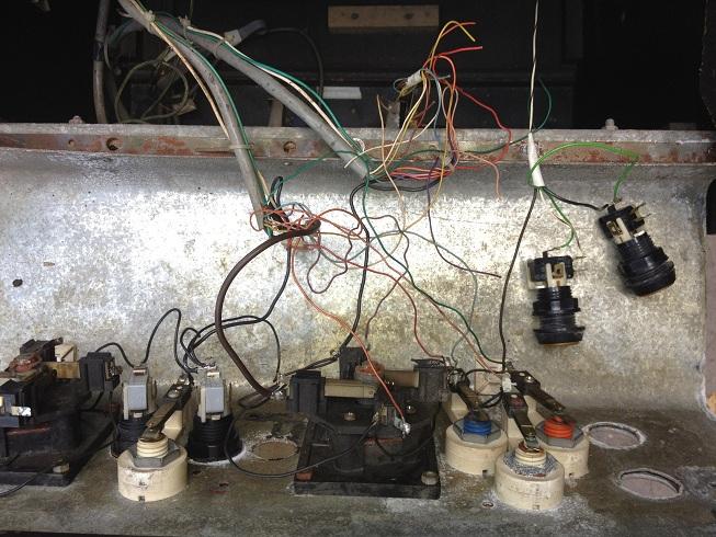 Restauration et modifications d'une borne 06