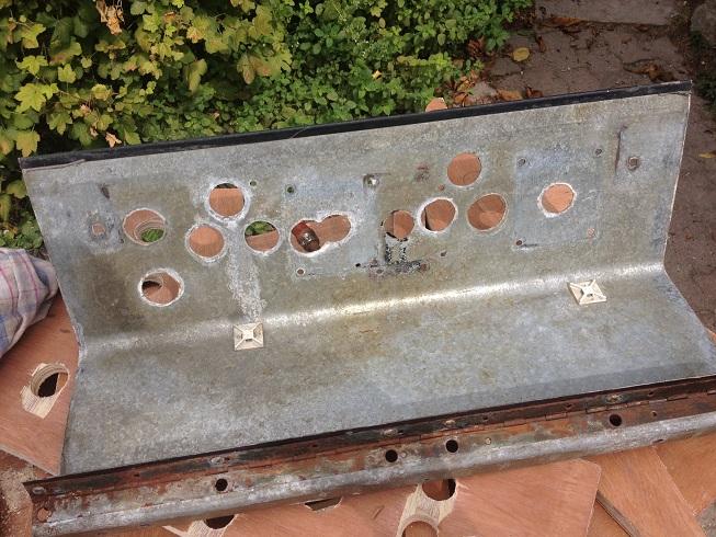 Restauration et modifications d'une borne 14