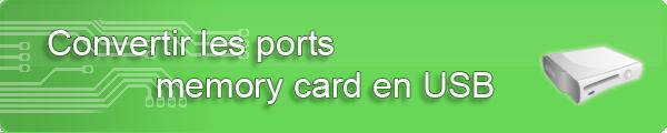 convertir ports memory card en usb x360 bricolage r 233 paration pannes courantes
